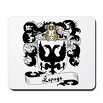 Lepage Family Crest Mousepad