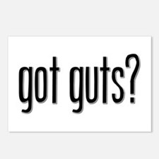 Got Guts? Postcards (Package of 8)