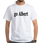 go Albert White T-Shirt