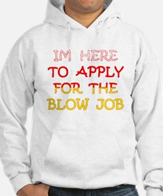 APPLY 4 BLOWJOB/reds-yellow Hoodie
