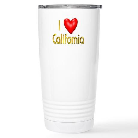 Love California Stainless Steel Travel Mug