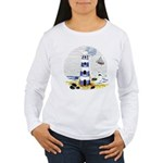 Mystic Lighthouse Women's Long Sleeve T-Shirt