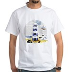Mystic Lighthouse White T-Shirt