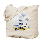 Mystic Lighthouse Tote Bag
