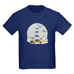 Mystic Lighthouse Kids Dark T-Shirt