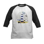 Mystic Lighthouse Kids Baseball Jersey