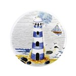 "Mystic Lighthouse 3.5"" Button"
