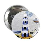 "Mystic Lighthouse 2.25"" Button"
