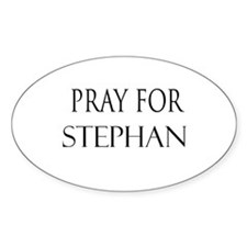STEPHAN Oval Decal
