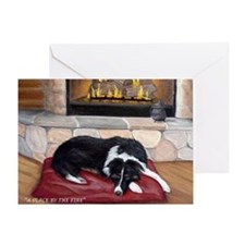 A Place By The Fire Greeting Card