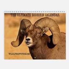 Ultimate Bighorn Wall Calendar