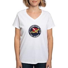 Customs Dive Team Women's V-Neck T-Shirt