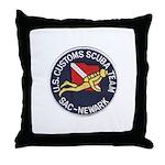Customs Dive Team Throw Pillow