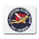 Customs Dive Team Mousepad