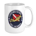 Customs Dive Team Large Mug