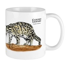 Clouded Leopard Small Mug