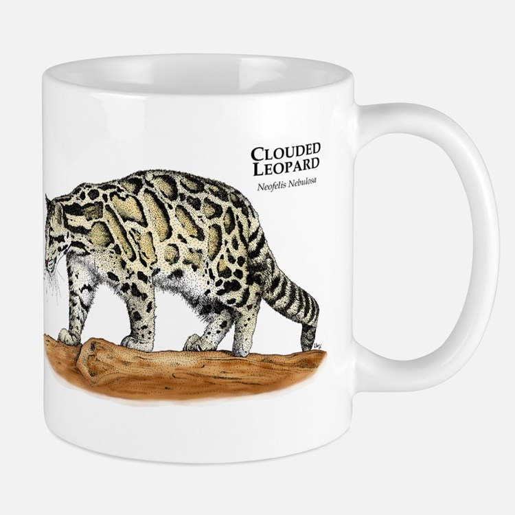 Clouded Leopard Small Small Mug