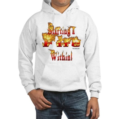 Starting a Fire Hoodie