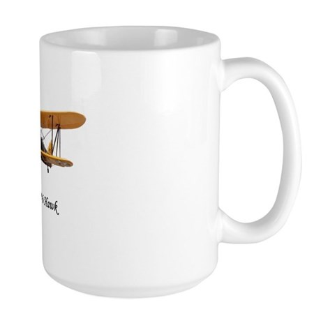 Curtiss P-6 Hawk Large Mug