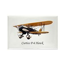 Curtiss P-6 Hawk Rectangle Magnet
