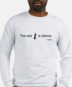 The Rest is Silence LS T-Shirt
