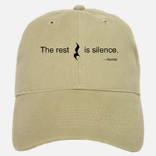 The Rest is Silence Baseball Baseball Cap