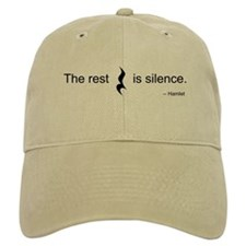 The Rest is Silence Baseball Cap