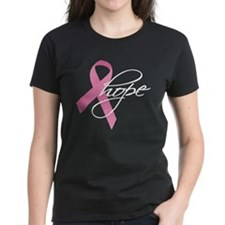 Breast Cancer Ribbon Hope Tee