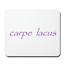 carpe lacus - PURPLE Mousepad