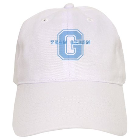 Team Groom (Blue) Cap