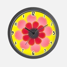 Floral... Wall Clock