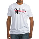 Rickrolled Fitted T-Shirt