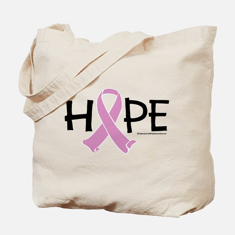 Testicular Cancer Ribbon Hope Tote Bag