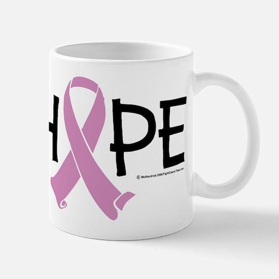 Testicular Cancer Ribbon Hope Mug