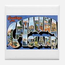 Catalina Island CA Tile Coaster