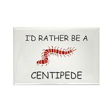 I'd Rather Be A Centipede Rectangle Magnet