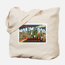 Hollywood California Tote Bag