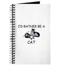 I'd Rather Be A Cat Journal