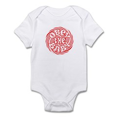 OBEY THE BABY FUNNY BABY GIFT Infant Bodysuit