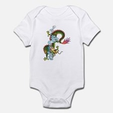 Dragon Tattoo Art Infant Bodysuit