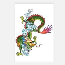Dragon Tattoo Art Postcards (Package of 8)