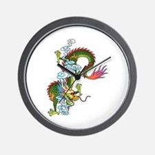Dragon Tattoo Art Wall Clock