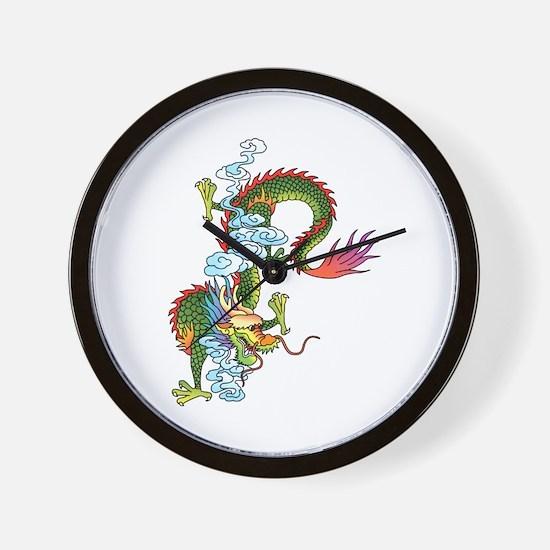 Dragon Tattoo Art Wall Clock