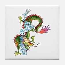 Dragon Tattoo Art Tile Coaster