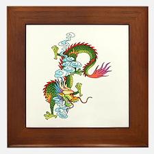 Dragon Tattoo Art Framed Tile