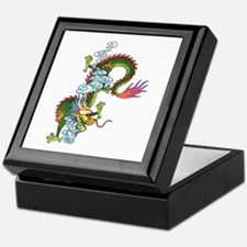 Dragon Tattoo Art Keepsake Box