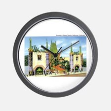 Hollywood California Wall Clock