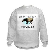 I'd Rather Be A Capybara Sweatshirt