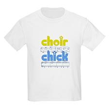 Choir Chick Kids T-Shirt