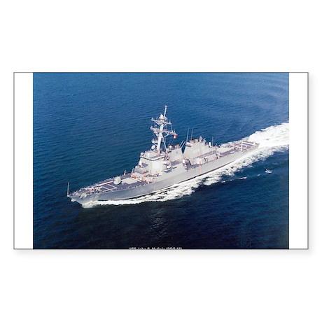 USS John S. McCain Rectangle Sticker